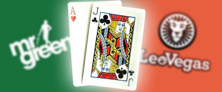 Bästa casinon att spela black jack online hos